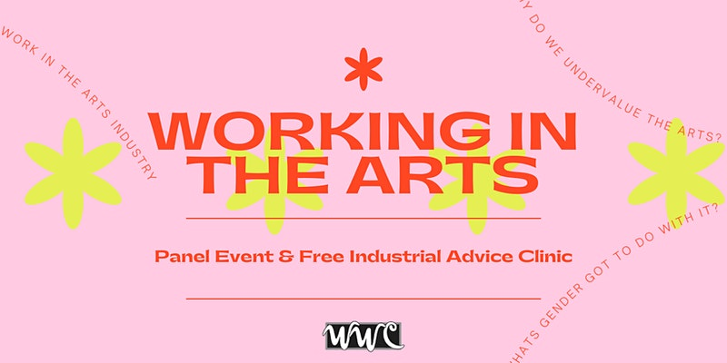 Working in the arts event