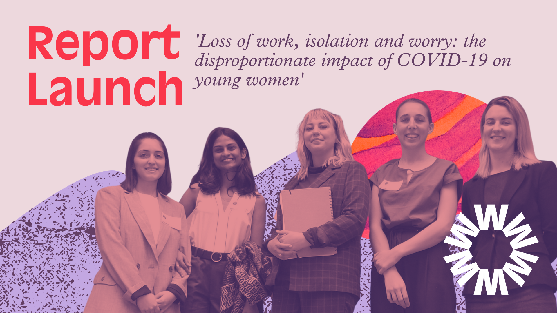 Young women and COVID19 report launch